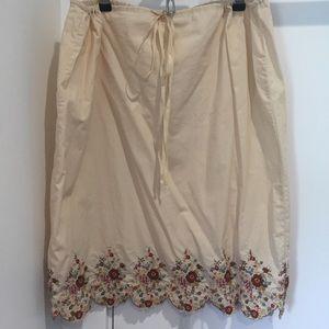 Lucky Brand Cotton Skirt